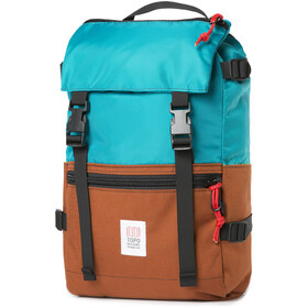 Topo Designs Rover Pack Reppu, turquoise/clay